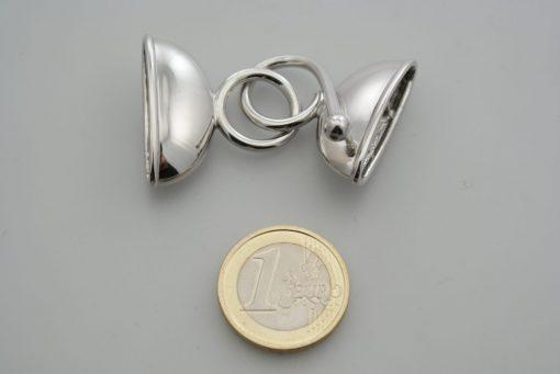 chiusura argento con coppe