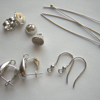 Minuterie in argento 925 rodiate