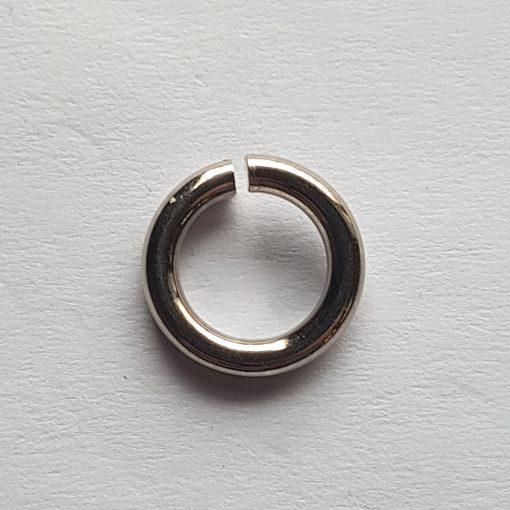 anellino argento 10mm aperto