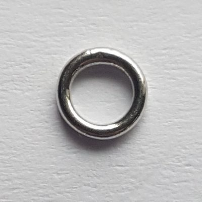anellino argento 6mm chiuso