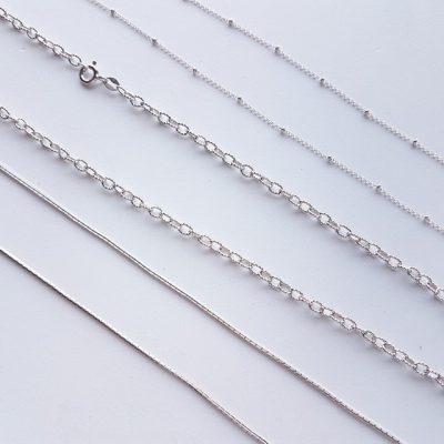 Catene in argento
